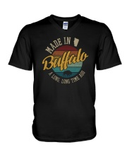MADE IN BUFFALO A LONG TIME AGO VINTAGE V-Neck T-Shirt thumbnail