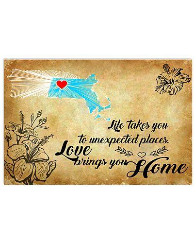 PUERTO RICO MASSACHUSETTS LOVE BRINGS YOU HOME