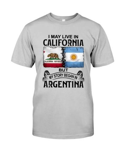 LIVE IN CALIFORNIA BEGAN IN ARGENTINA