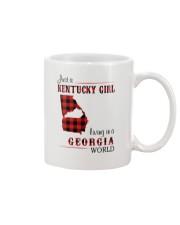 KENTUCKY GIRL LIVING IN GEORGIA WORLD Mug thumbnail