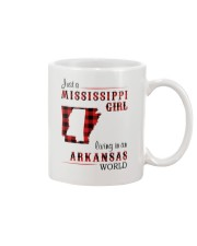 MISSISSIPPI GIRL LIVING IN ARKANSAS WORLD Mug thumbnail