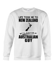 AUSTRALIAN GUY LIFE TOOK TO NEW ZEALAND Crewneck Sweatshirt thumbnail