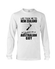 AUSTRALIAN GUY LIFE TOOK TO NEW ZEALAND Long Sleeve Tee thumbnail
