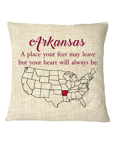 ARKANSAS A PLACE YOUR FEET MAY LEAVE