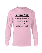 MAINE IF MY MOUTH DOESN'T SAY IT Long Sleeve Tee thumbnail