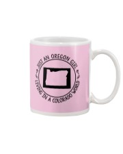 OREGON GIRL LIVING IN COLORADO WORLD Mug thumbnail