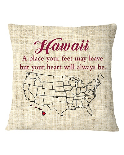 HAWAII A PLACE YOUR FEET MAY LEAVE