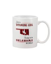 WYOMING GIRL LIVING IN OKALHOMA WORLD Mug thumbnail