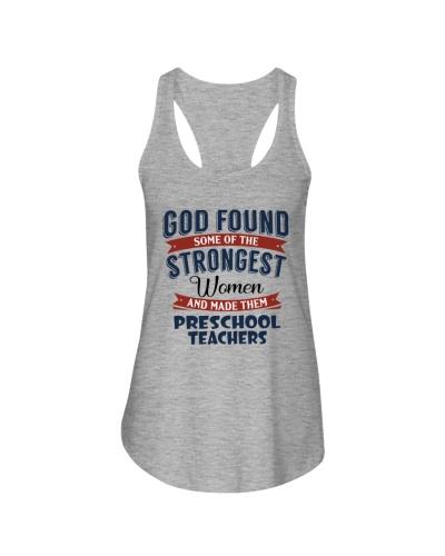 STRONGEST WOMEN PRESCHOOL TEACHER