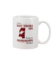 WEST VIRGINIA GIRL LIVING IN MISSISSIPPI WORLD Mug thumbnail