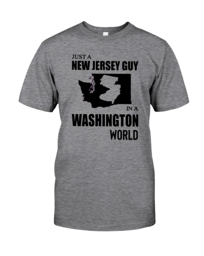 JUST A NEW JERSEY GUY IN A WASHINGTON WORLD