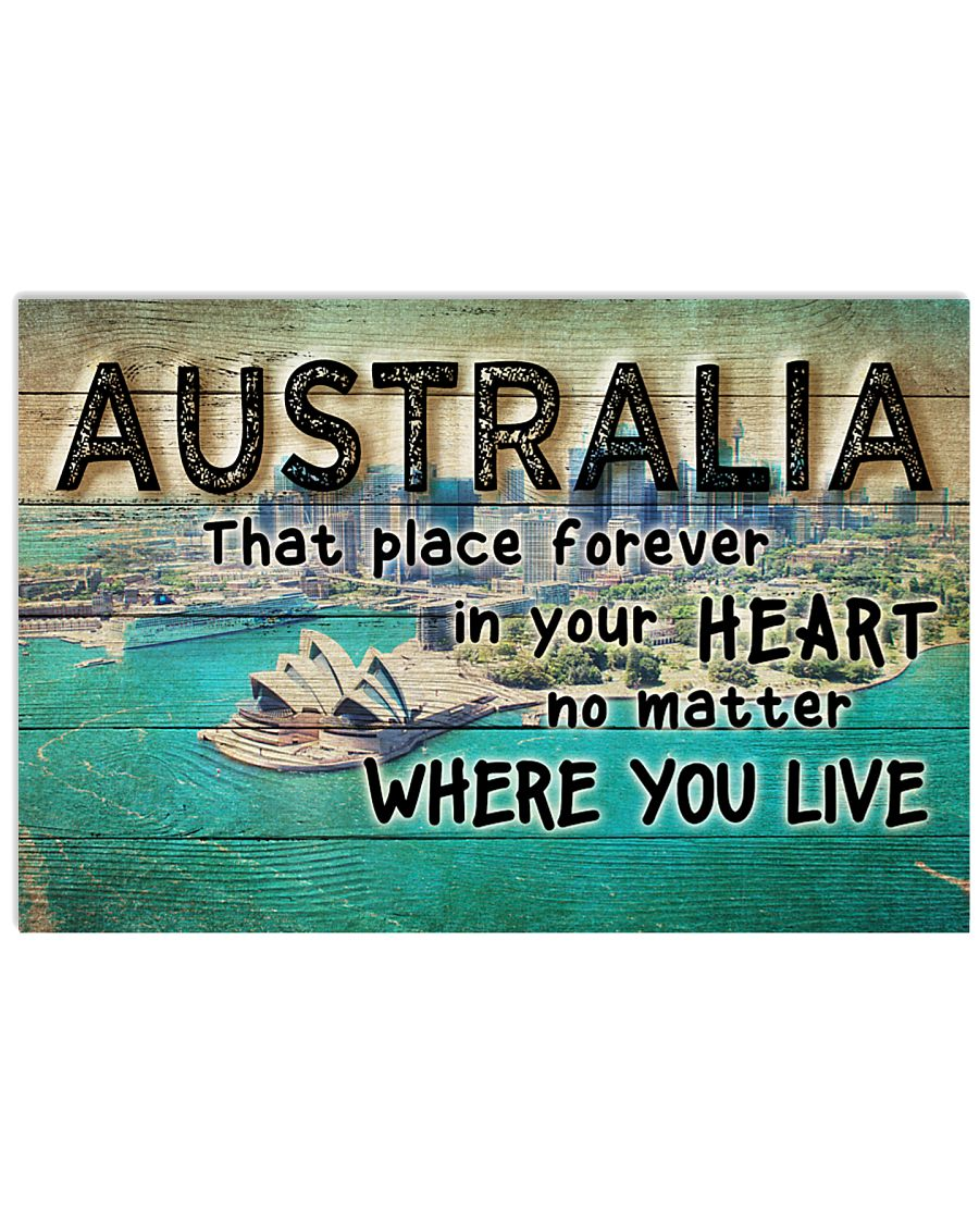 AUSTRALIA THAT PLACE FOREVER IN YOUR HEART 24x16 Poster