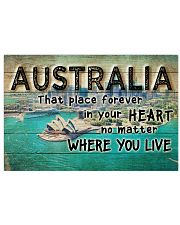 AUSTRALIA THAT PLACE FOREVER IN YOUR HEART 24x16 Poster front