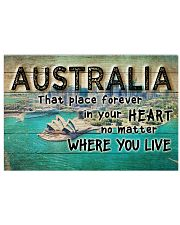 AUSTRALIA THAT PLACE FOREVER IN YOUR HEART Horizontal Poster tile