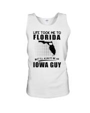 IOWA GUY LIFE TOOK TO FLORIDA Unisex Tank thumbnail