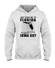 IOWA GUY LIFE TOOK TO FLORIDA Hooded Sweatshirt thumbnail