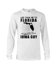IOWA GUY LIFE TOOK TO FLORIDA Long Sleeve Tee thumbnail