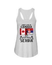 LIVE IN CANADA BEGAN IN SERBIA  Ladies Flowy Tank thumbnail