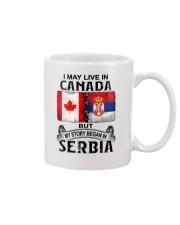 LIVE IN CANADA BEGAN IN SERBIA  Mug thumbnail