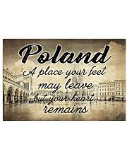 POLAND A PLACE YOUR HEART REMAINS 24x16 Poster front
