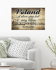 POLAND A PLACE YOUR HEART REMAINS 24x16 Poster poster-landscape-24x16-lifestyle-01