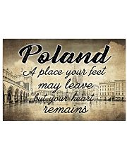 POLAND A PLACE YOUR HEART REMAINS Horizontal Poster tile
