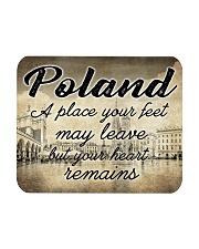 POLAND A PLACE YOUR HEART REMAINS Mousepad tile