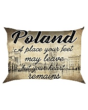 POLAND A PLACE YOUR HEART REMAINS Rectangular Pillowcase thumbnail