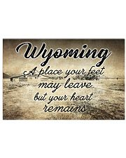 WYOMING A PLACE YOUR HEART REMAINS 24x16 Poster front