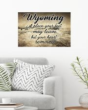 WYOMING A PLACE YOUR HEART REMAINS 24x16 Poster poster-landscape-24x16-lifestyle-01