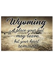 WYOMING A PLACE YOUR HEART REMAINS Horizontal Poster tile