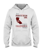 PUERTO RICAN GIRL LIVING IN CALIFORNIA WORLD Hooded Sweatshirt thumbnail