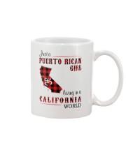 PUERTO RICAN GIRL LIVING IN CALIFORNIA WORLD Mug thumbnail