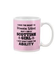 I'M A SCOTTISH GIRL I JUST DON'T HAVE ABILITY Mug thumbnail