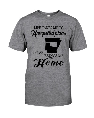 OKLAHOMA ARKANSAS LOVE BRINGS ME HOME