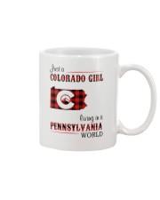 COLORADO GIRL LIVING IN PENNSYLVANIA WORLD Mug thumbnail