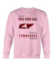 NEW YORK GIRL LIVING IN TENNESSEE WORLD Crewneck Sweatshirt thumbnail
