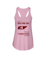 NEW YORK GIRL LIVING IN TENNESSEE WORLD Ladies Flowy Tank thumbnail