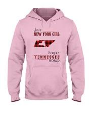 NEW YORK GIRL LIVING IN TENNESSEE WORLD Hooded Sweatshirt thumbnail