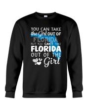 YOU CAN'T TAKE FLORIDA OUT OF THE GIRL Crewneck Sweatshirt thumbnail