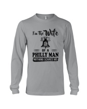 I'M THE WIFE OF A PHILLY MAN  Long Sleeve Tee thumbnail