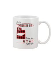 TENNESSEE GIRL LIVING IN UTAH WORLD Mug thumbnail