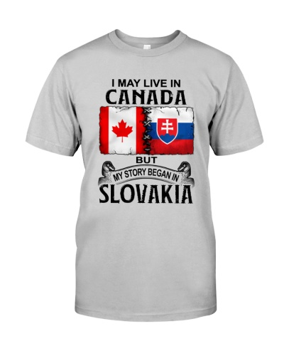 LIVE IN CANADA BEGAN IN SLOVAKIA