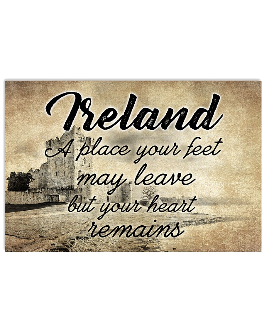 IRELAND A PLACE YOUR HEART REMAINS 24x16 Poster