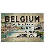 BELGIUM THAT PLACE FOREVER IN YOUR HEART 17x11 Poster front
