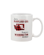 MARYLAND GIRL LIVING IN WASHINGTON WORLD Mug thumbnail