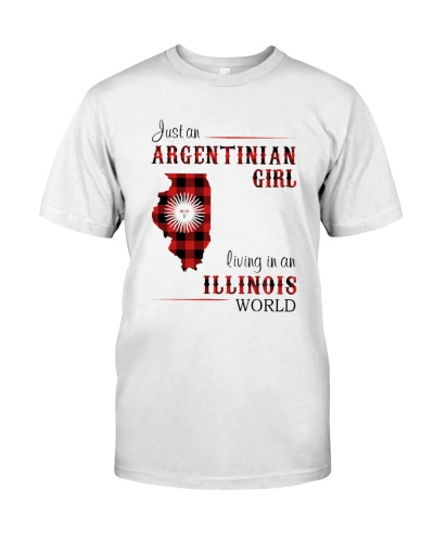 ARGENTINIAN GIRL LIVING IN ILLINOIS WORLD