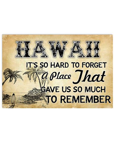 HAWAII IT'S SO HARD TO FORGET