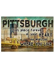 PITTSBURGH THAT PLACE FOREVER IN YOUR HEART 24x16 Poster front