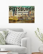 PITTSBURGH THAT PLACE FOREVER IN YOUR HEART 24x16 Poster poster-landscape-24x16-lifestyle-01
